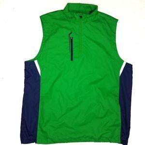 Bobby Jones Vest Mens Medium Green X-H2O